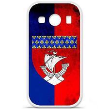 Coque housse étui tpu gel motif drapeau Paris Samsung Galaxy Ace 4 G357