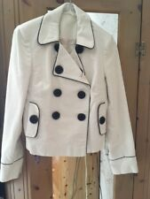 Topshop black and white jacket in size 10