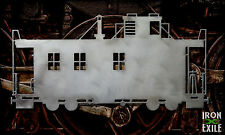 Caboose - Metal Wall Art Railroad Decor Railway Sign Locomotive Steam Train