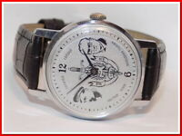 Rare montre ancienne mécanique homme ZIM-KGB, bracelet neuf #31120