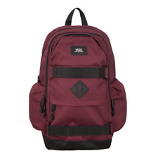 Vans Off The Wall Planned Pack 2 Tawny Port Skateboard Laptop Backpack NWT