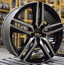 "19"" Honda Accord Sport 2016 2017 Factory OEM Rim Wheel 64083 Black Full Set"