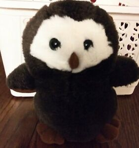 "6"" Hooters Owl Plush Vintage Hootie Official Merchandise"