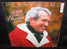 PERRY COMO I Wish It Could Be Christmas Forever (Original 1982 U.S. 10 Track LP)