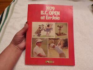 VTG 1979 B.C. Open At En-Joie Signed Program