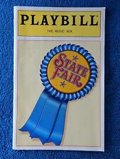 State Fair - Music Box Theatre Playbill Juy 1996 - John Davidson - McArdle