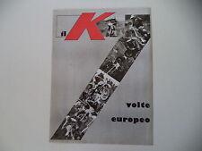 advertising Pubblicità 1977 MOTO KTM 7 VOLTE CAMPIONE EUROPEO