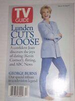 Tv Guide Magazine Joan Lunden March 30- April 5, 1996 042417nonrh