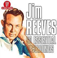 JIM REEVES - 60 ESSENTIAL RECORDINGS  3 CD NEUF