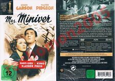 DVD MRS MINIVER (1942) Greer Garson Walter Pidgeon William Wyler Rar+OOP Neu+OVP