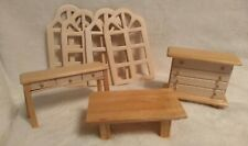 Wooden Greenbrier International Dollhouse Doll Furniture & Other Accessories