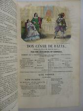 [GRAVURES COLORIEES]. Magasin Théatral  + Galerie des artistes de Paris 1841-42