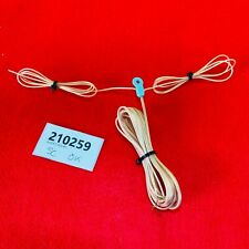 More details for vintage pioneer balanced fm antenna aerial cable bare wire w/ blue hanger
