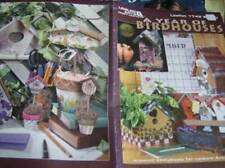 A Year Of Birdhouses Painting Book Chalet Log Cabin Shamrock Haunted Gingerbread