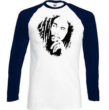 Bob Marley T-Shirt Mens Reggae Music Drug Weed Spliff Marijuana Jamaica Top