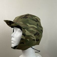 Vintage Camo Cap Hat Size Medium
