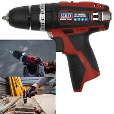 Sealey 12V Hammer Drill/Driver Body Only Torque LED Indicator