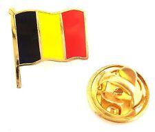 Belgium Flag Enamel Lapel Pin Badge T349
