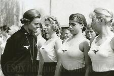 League of German Girls BDM Bund Deutscher Mädel Photo photograph tits 4x6