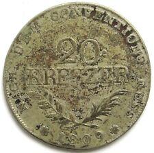 20 Kreuzer 1809, Tirol