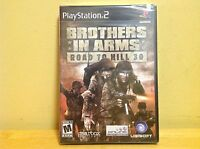 Brothers in Arms: Road to Hill 30 (PlayStation 2) New, Factory Sealed, Black