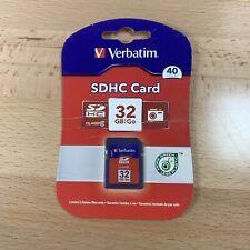 Verbatim 32GB Premium SDHC Memory Card Class 6 - 96871
