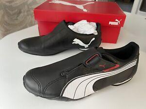 PUMA Men's Redon Move Sneaker, Black/White/High Risk Red, Size 9 185999 02
