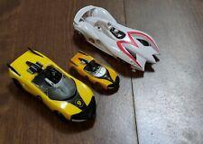 2007 Hot Wheels Speed Racer RACE TALKING Mach 6 & Racer X Shooting Star Target