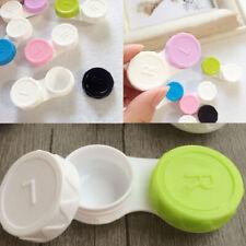 5 x Travel Mini Plastic Care Contact Lens Holder Storage Box Cases Set TI