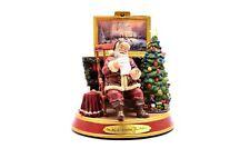 Thomas Kinkade Light Up Holidays Santa Claus Figurine The Joy of Christmas