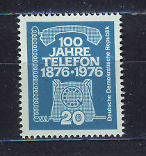 ALEMANIA/RDA EAST GERMANY 1976 MNH SC.1714 First telephone call
