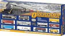 Bachmann HO Scale Overland Limited Train Set NEW 00614