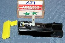 Sears 88653  88683 replacement RECORD PLAYER CARTRIDGE NEEDLE Astatic 671