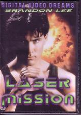 1990 NiP dVd* Laser Mission Brandon LEE Ernest BORGNINE