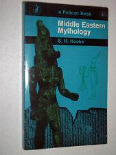 Pelican Book A546 Middle Eastern Mythology by S.H. Hooke 1963 Egypt Babylon etc