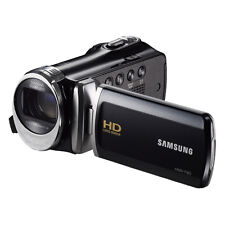 Samsung F90Bn Camcorder - Black with 2 chargers and 4 batteries