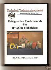 REFRIGERATION FUNDAMENTALS FOR HVACR TECHNICIANS /DVD