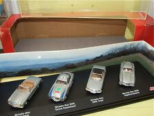 MERCEDES 280 SL , 300 SL, 560 SL coupé, 300 SL gullwing coffret SCHUCO 1/72
