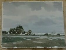 SIGNED LANDSCAPE ORIGINAL WATERCOLOUR PAINTING   BY F. WILDING