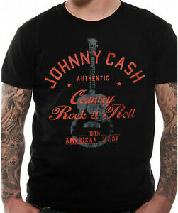 Johnny Cash Country Rock n Roll T Shirt Official NEW Folsom Prison M L