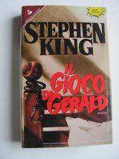 IL GIOCO DI GERALD di STEPHEN KING, Sperling & Kupfer 1993.
