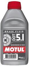 Motul DOT 5.1 Olio Liquido freni Auto moto ABS 500ml 100% Sintetico