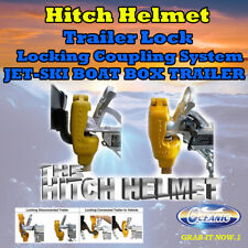 Hitch Helmet Dual Locking Coupling System Trailer Lock