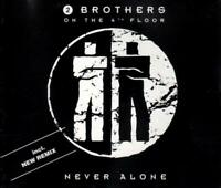 2 Brothers On The 4th Floor - Never Alone (4 trk CD / 1994)