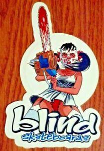 Blind Skateboards, Cool Sticker, Chainsaw, Ski Mask, Killer Girl, Red Panties