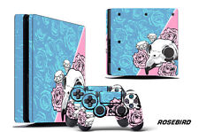 Skin Decal Wrap For PS4 Slim Playstation 4 SLIM Console + Controller Stickers RB