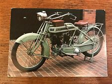 Antique 1914 Clyno 700cc National Motorcycle Museum Postcard