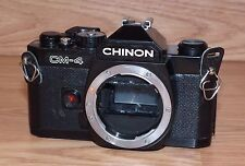 *Untested* Vintage Chinon (CM-4) 35mm SLR Film Camera Body Only **READ**