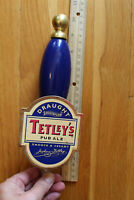 """Tetley's Pub Ale Draught Smooth Flow Beer Handle Pull Tap 9"""" Tall"""
