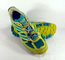 Hoka One One Mafate Speed Womens Size 10 Acid Aqua Grey Shoes 20109030 ACAG